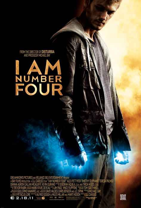 Я–Четвертый / I Am Number Four (2011)
